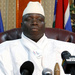 Gambia leader urges peace at start of presidential campaign