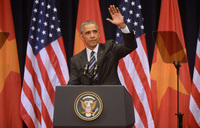 Obama implores Vietnam to embrace human rights