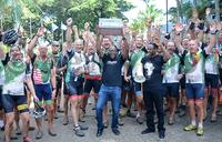 Cyclists raise sh1.7b for health in Uganda