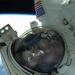 NASA astronaut shares spacewalk selfie