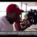 When it is a boat cruise party for Ugandans