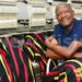Kasumba, the designer of VP Ssekandi's coat of many colours