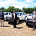 MTN hands over 3 brand new cars to the President, COVID-19 task force