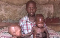 13-year-old boy fends for twin siblings
