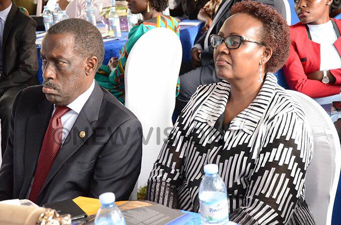 mbassador ugume eft was among the graduates who received certificates