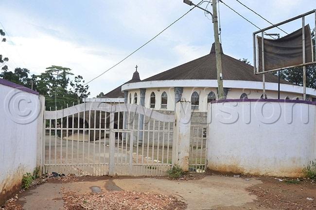 he nglican artyrs hrine at akiyanjaamugongo was closed