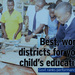 Government names best, worst districts in education
