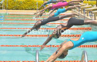 Dolphins finish third at KSF swimming championship