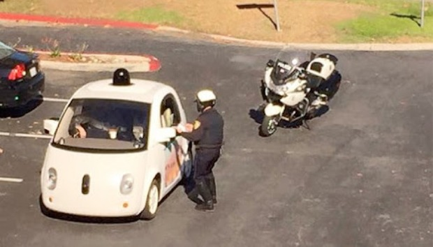 google-car-arrest