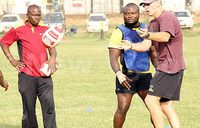 Rugby Coach searching for fly halves