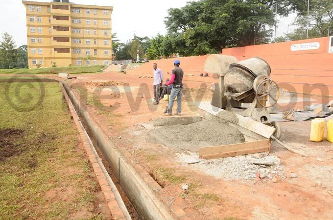 he dejje pitch under construction hoto by manda amayo