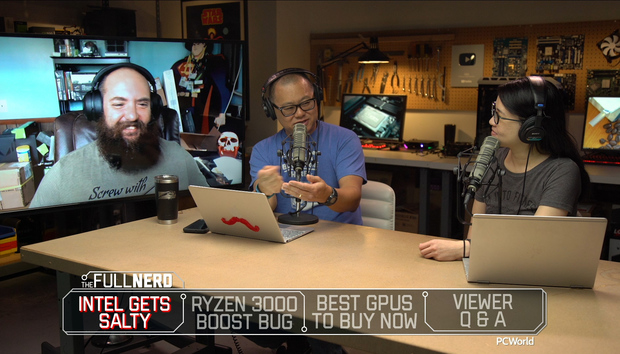 The Full Nerd ep. 105: Intel gets salty, Ryzen's boost bug, and the best GPUs right now