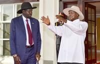 Museveni, Kiir hold bilateral talks