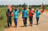 Journey of Hope: Walkers head to Soroti