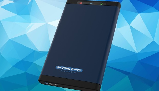 SecureDrive BT review: Unlock this secure portable SSD using your phone