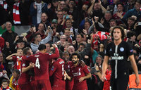 Liverpool beat PSG 3-2 in Champions League