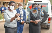 COVID-19: Kyambogo makes 2,000 face shields for health workers