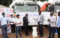 COVID-19: UNRA, contractors contribute 60 tonnes of food