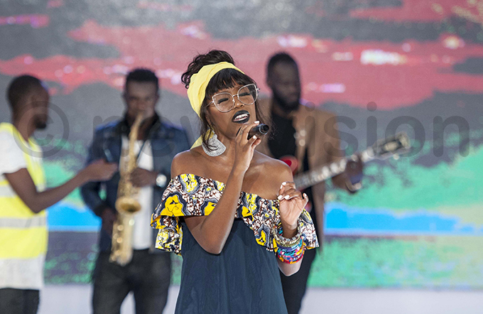 achel  performs at the event hoto by alungi abuye