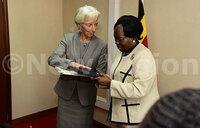 IMF boss Christine Lagarde meets Kadaga