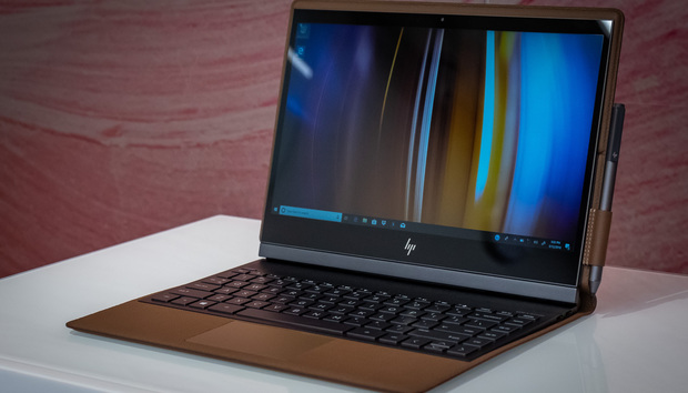 The HP Spectre Folio is a leather-clad laptop that's luxurious