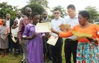 Chinese mark International children's day in Kibaale