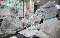China reports fewest new virus cases on record