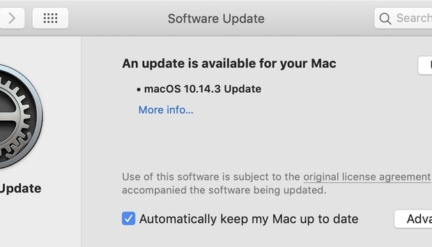 Apple releases macOS 10.14.3 update