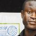 Volleyball star Daudi Okello moves