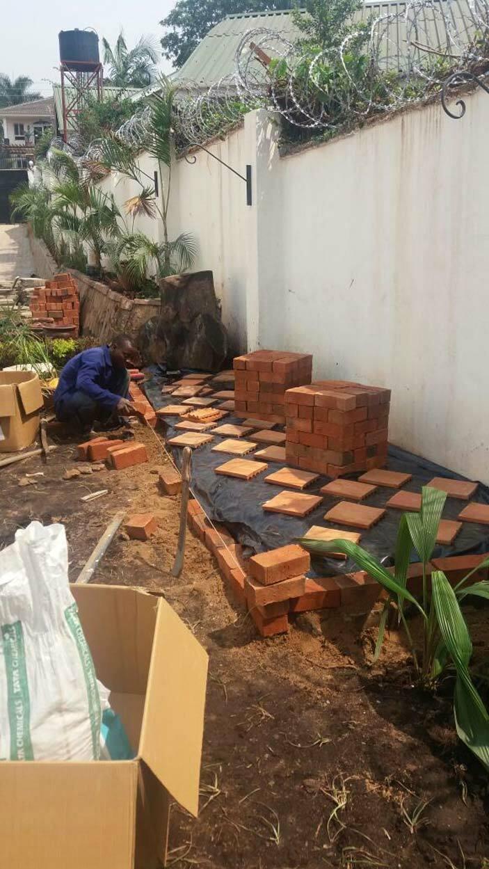 kata setting a rock garden