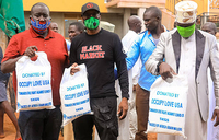 Muslims in Mbale receive 3 tonnes of maize flour