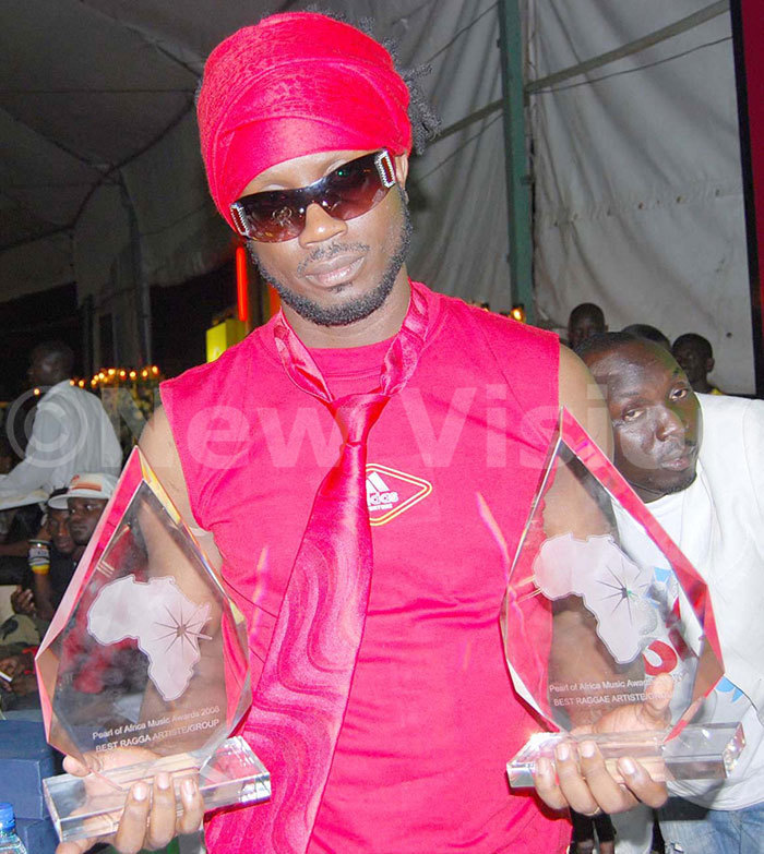 ebe ool won for both agga and eggea artist in 2008