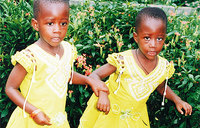 Double tragedy: my twins can neither talk nor walk
