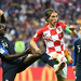 Modric wins World Cup Golden Ball, Mbappe young player award