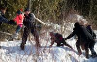 Migrants flee US to seek asylum in Canada