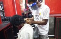 Salon operators resume working