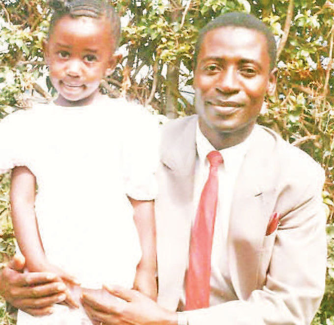 abalayo with her father in the early days