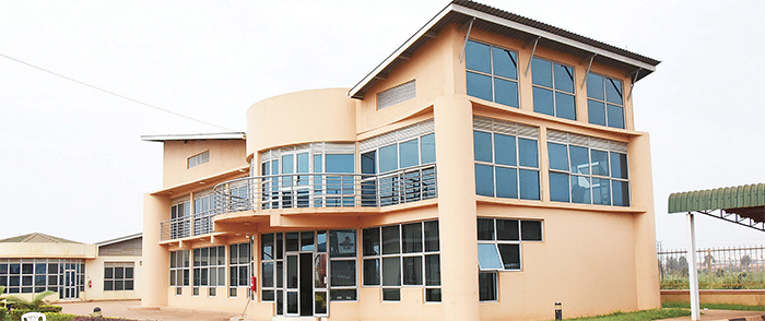 he ganda nvestment uthority building at ampala ndustrial ark also known as amanve
