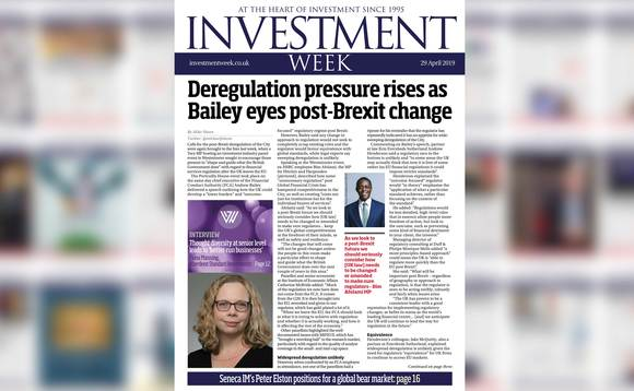 Investment Week - 29 April 2019 digital edition