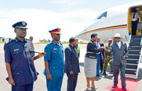 Museveni  returns from Nairobi ICPD 25 conference
