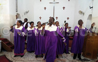 In pictures: Ugandans celebrate Easter with prayer