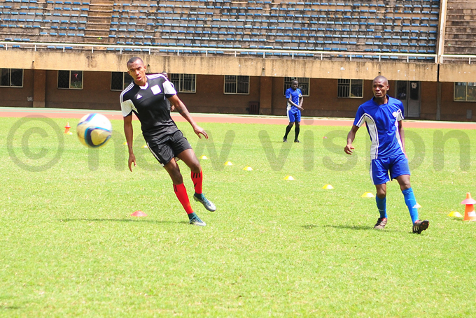 orenzen  during the practice game against he aints hoto by ulius enyimba