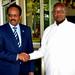 Presidents Museveni and Abdullahi of Somalia hold bilateral talks