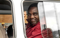 Zambian opposition leader goes on trial for treason