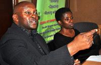 Activists protest retired Bishop Niringiye's arrest