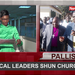 Around Uganda: Political leaders shun churches