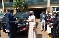 Sarah Kanyike assumes new office at Gender Ministry