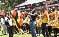 Make us proud, Muhoozi tells motocross team