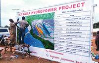 Karuma project begins