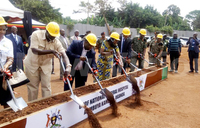 UPDF breaks ground for national referral hospital